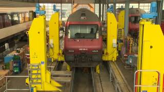 Swiss locomotives modernized with ABB traction converters