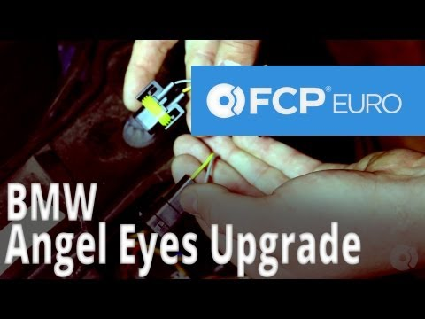 BMW LED Angel Eyes Install (E92 328i) FCP Euro