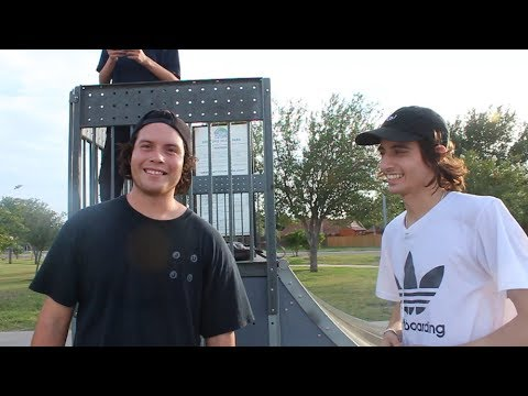 Mikey Whitehouse VS Rick Molina Rail SKATE