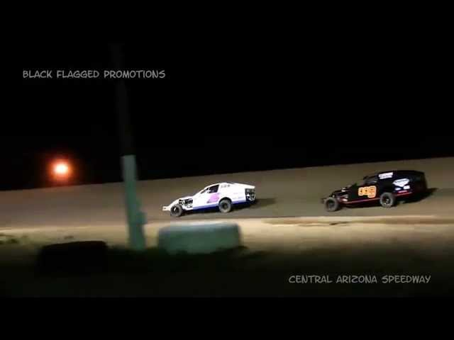 Central Arizona Speedway- Modified B-Main Feb 28th 2015