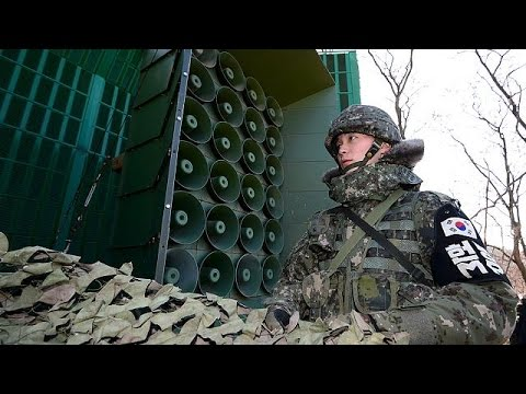 South Korea resumes propaganda broadcasts into the North