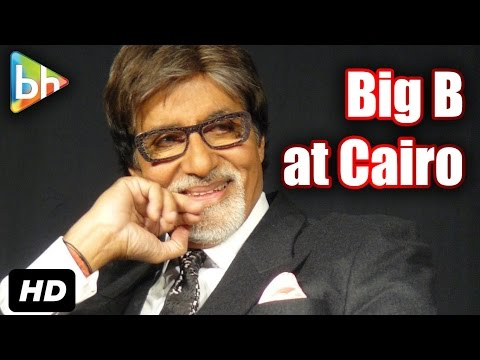Big B Stunned By Madness For Him In Egypt