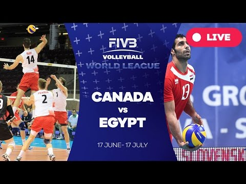 Canada v Egypt - Group 2: 2016 FIVB Volleyball World League