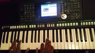 Elohim Eternal One and I have no other God but You (African worship) - Piano tutorial