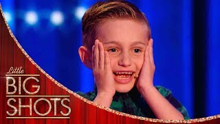 Nathan Is The Youngest Comedian You'll Ever See! | Little Big Shots