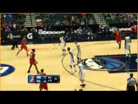 Yi Jianlian highlights from Tex. Legends  (1/8/2012) - 29 points