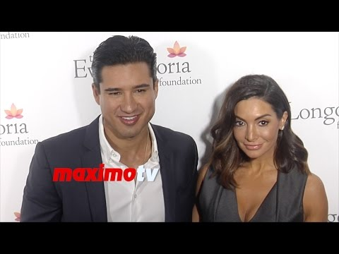 Mario Lopez & Courtney Laine Mazza | 2014 Eva Longoria Foundation Dinner | Red Carpet
