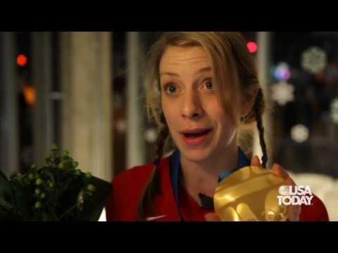 Gold medalist Hannah Kearney interview