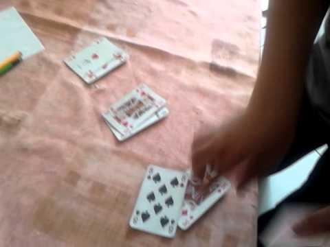 класный карточный фокус