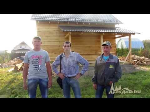 Дом из бруса д.Исаково Истринский район, Московская область.