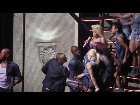 Nicki Minaj - The Boys (live) Newcastle 28 10 12 video