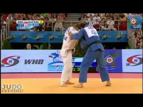 Judo European Championships 2013: Rok DRAKSIC (SLO) - Nugzari TATALASHVILI (GEO) Final [-73kg]