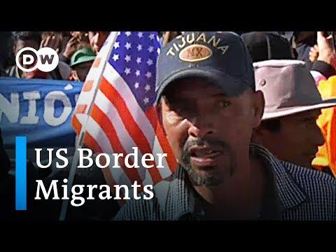 Migrants at Tijuana border seek options outside the US | DW News