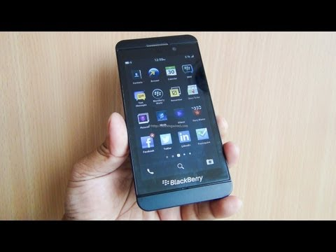 Blackberry Z10 Review: Complete In-depth Hands on full HD