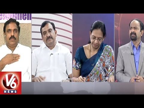 Special Debate On Chandrababu-Rahul Meet | Good Morning Telangana | V6 News