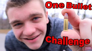 ONE BULLET SURVIVAL CHALLENGE!