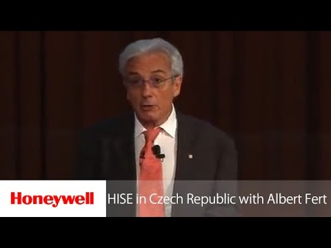 HISE in Czech Republic with Nobel Laureate Albert Fert