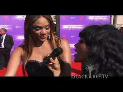 BET AWARDS 07 - Red Carpet - Alesha Renee Video