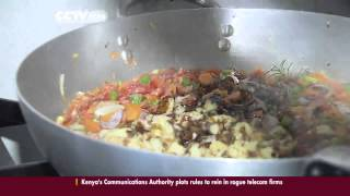 Kenyan Entrepreneur offers High end Cuisine at affordable prices