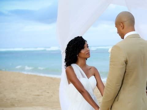 Beach Wedding: Our Hearts Became ONE 11-19-2013 | SunKissAlba