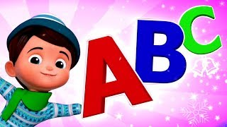 Christmas ABC Song | Alphabets Songs For Kids & Children By Junior Squad
