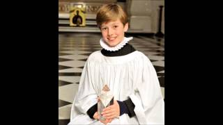 Laurence Kilsby boy soprano sings Op  113 No  6 A Song of Wisdom