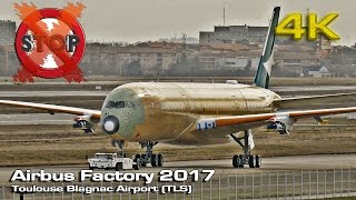 Airbus Factory 2017 (Non Stop) [4K]