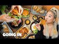 Eating EVERY Korean menu item at Quarters Kitchen! ft. vivalastina | Going In