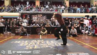 Locking Best8-3 Locking Jack vs Mai Tokuno | 160229 OBS Vol.10 Day2