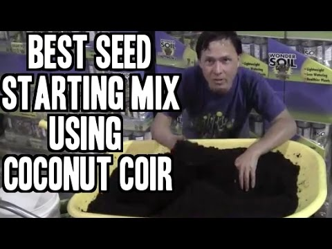 Best Seed Starting Mix Made with Coconut Coir + More
