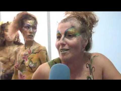 MásMovil - Campaña de Cuerpos pintados, en Barcelona