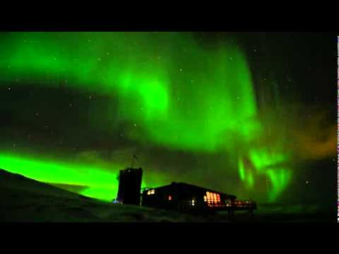 Amazing Aurora Over Sweden - Time-Lapsed