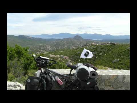 Voyage à vélo en Corse 1   (2012)