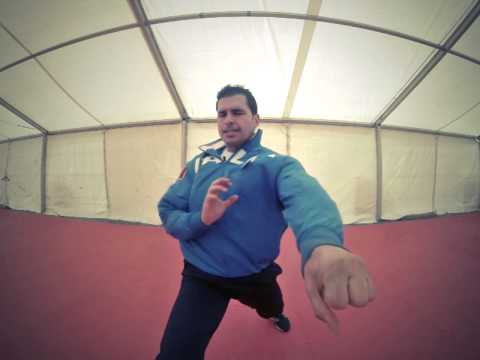 Luca Valdesi in Slow Motion. 1000fps. GoPro and no Twixtor. Karate Kata Champion.