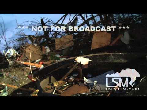 4/27/14 Mayflower, AR; Wedge Tornado Damage *John Sibley HD*