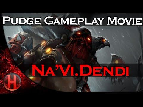 NaViDendi Pudge Gameplay Movie