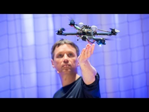 Raffaello D Andrea: The astounding athletic power of quadcopters