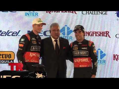 Presentación del auto de Force India para el 2015