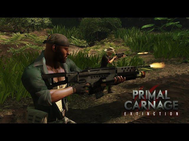 Руководство запуска: Primal Carnage - Extinction по сети