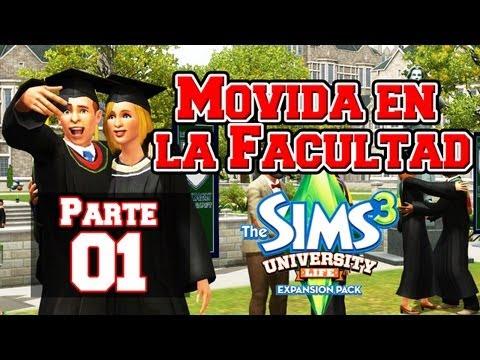 Los Sims 3 Movida en la Facultad   Parte 01: La mascota (Review de ropa y cabellos)