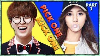 Pick One Kick One Part 3 -  Kpop Songs - Kpop Game
