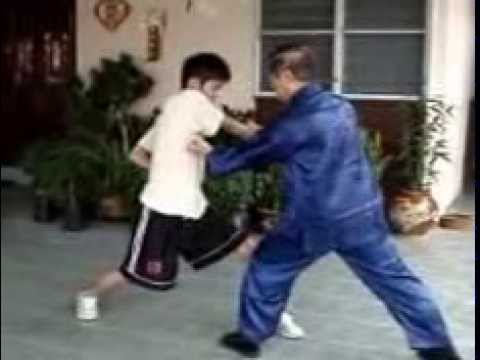 鹰j爪拳對練   Combat Application of Eagle Claw Kungfu Image 1