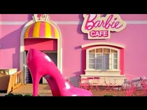 barbie girl house