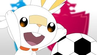 Scorbunny Starter Pokemon Animation