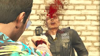 GTA 5 Funny/Brutal Kill Compilation Vol.85 (Guns/Melee/Gangs/NPC's Fighting/Funny Moments)