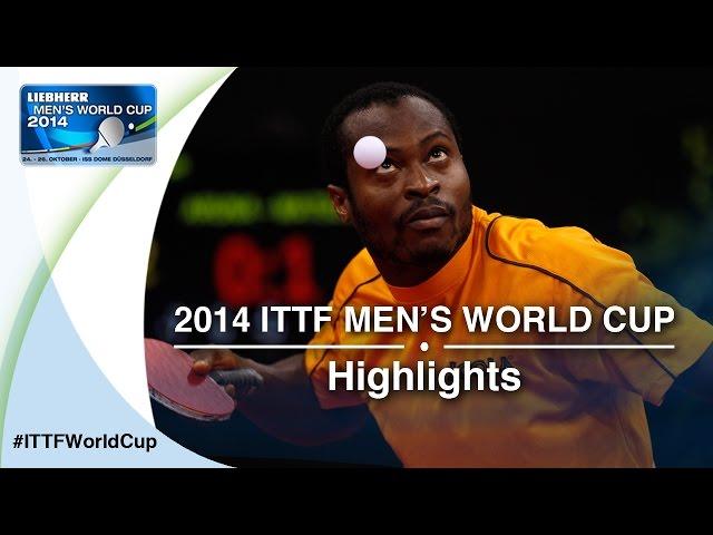 2014 Men's World Cup Highlights:MATSUDAIRA Kenta vs ARUNA Quadri (Qual Groups)
