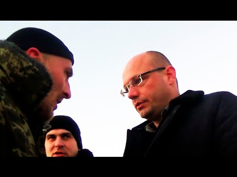 Мент Украины бойцу АТО: Заткнись валенок