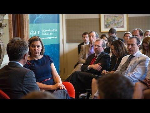 A Transatlantic Talk with Ambassador Victoria Nuland on the State of Euroatlanticism