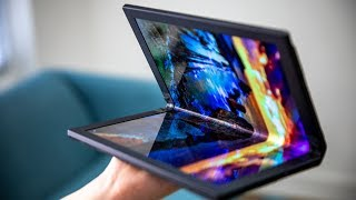 Hands-On with Lenovo's Foldable PC!
