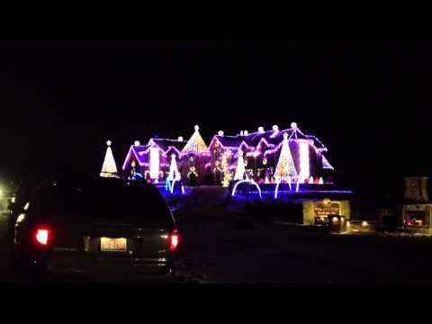 Larsen Christmas Lights! Elburn IL 12/18/13